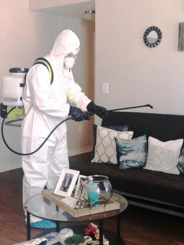 Disinfection and decontamination Covid-19
