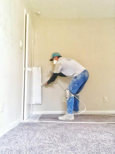 Painting interior and exterior
